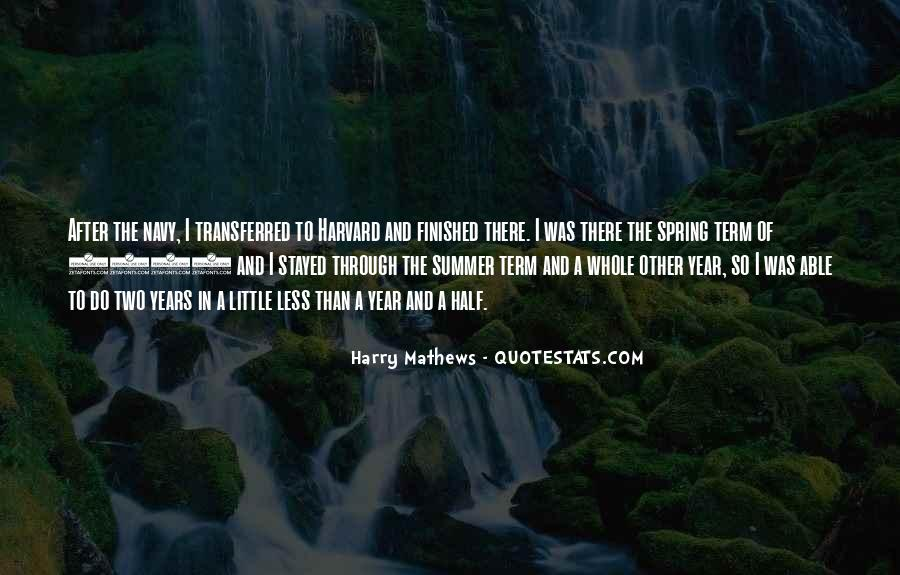 Harry Mathews Quotes #998616