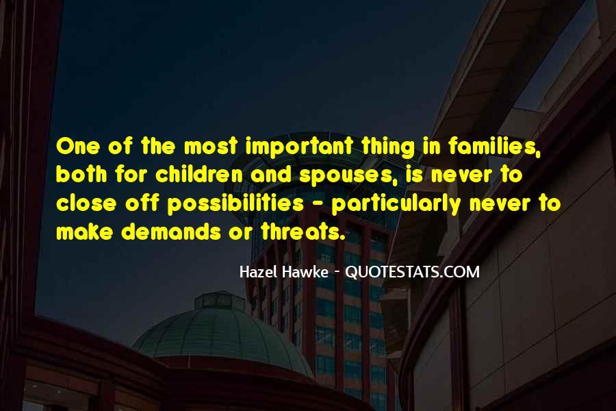 Hazel Hawke Quotes #1367098