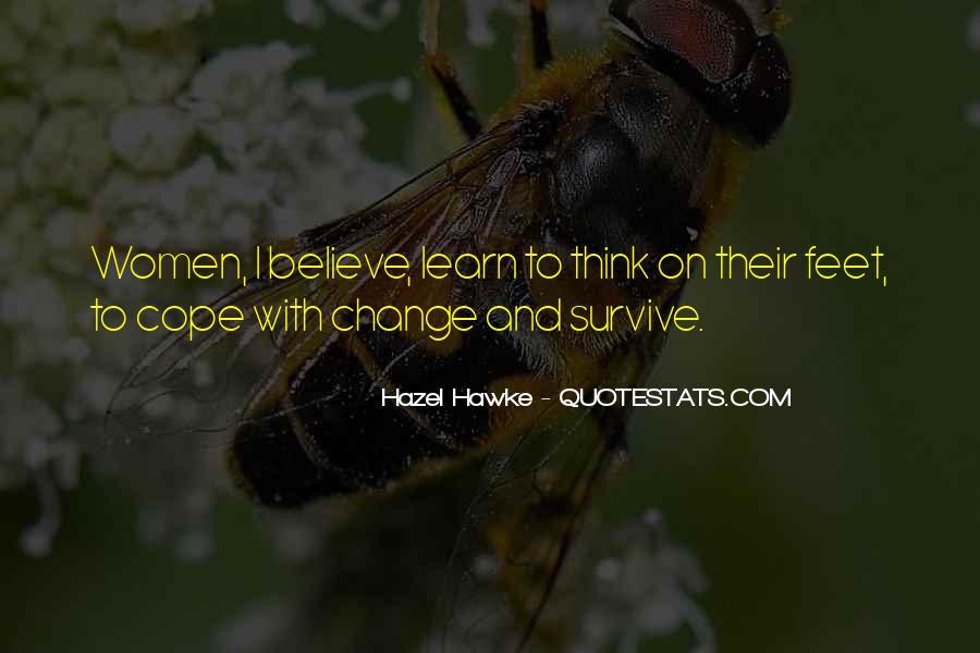 Hazel Hawke Quotes #301602