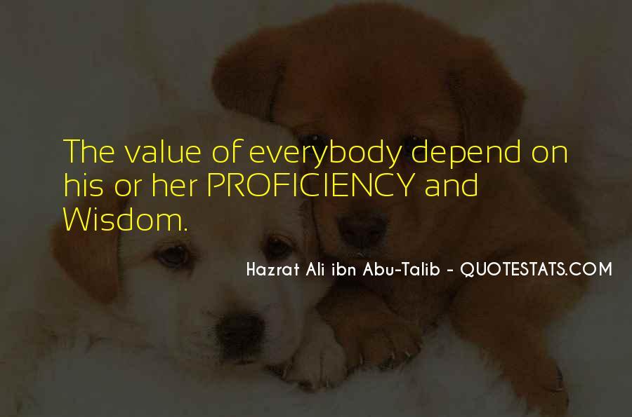 Hazrat Ali R A Quotes #140618