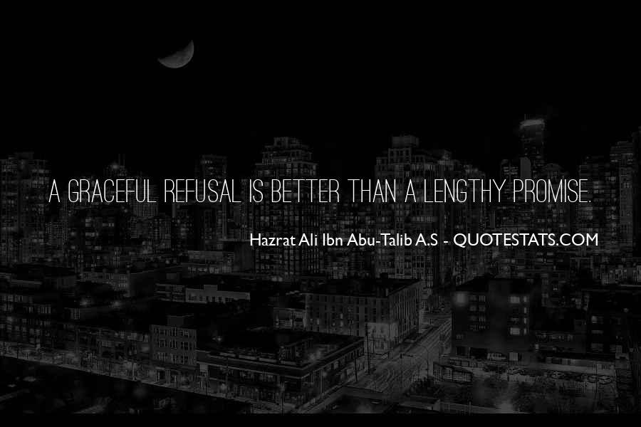 Hazrat Ali R A Quotes #188705