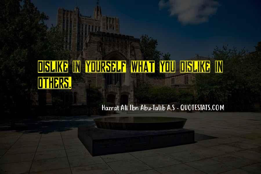 Hazrat Ali R A Quotes #597248