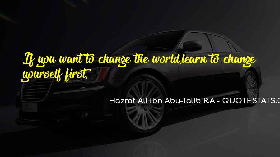 Hazrat Ali R A Quotes #675346