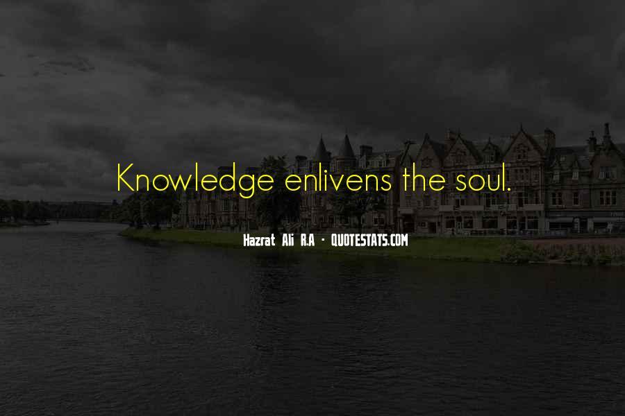Hazrat Ali R A Quotes #920388
