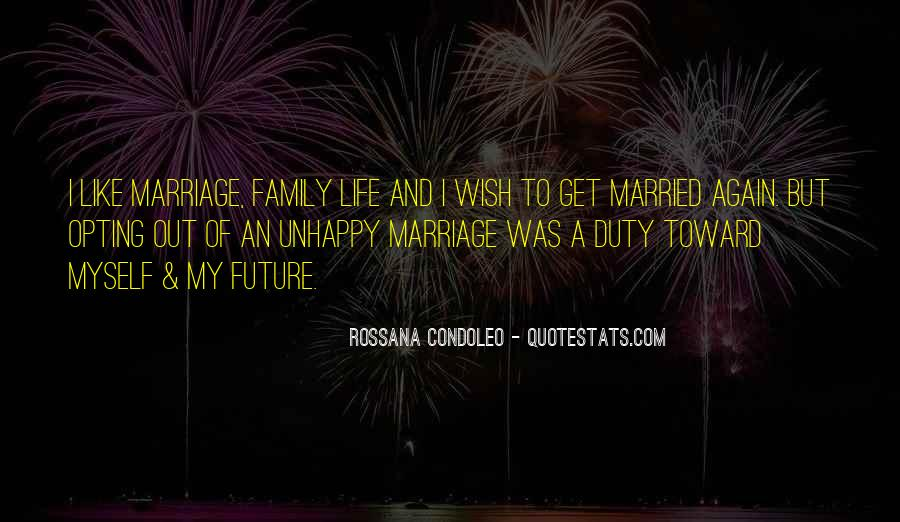 Quotes About A Happy Married Life #1681059