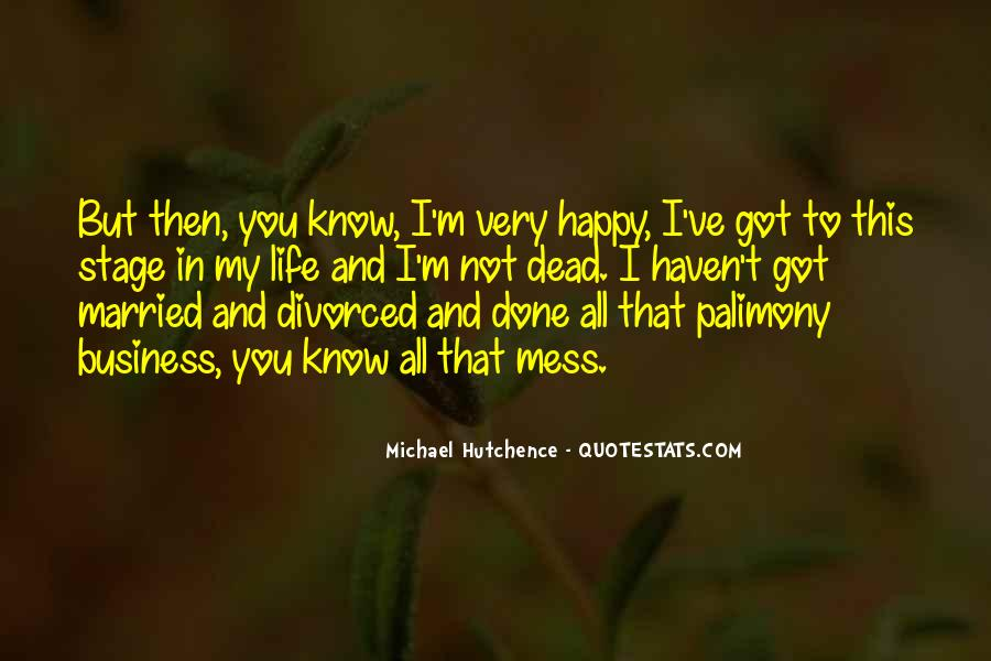 Quotes About A Happy Married Life #1702039