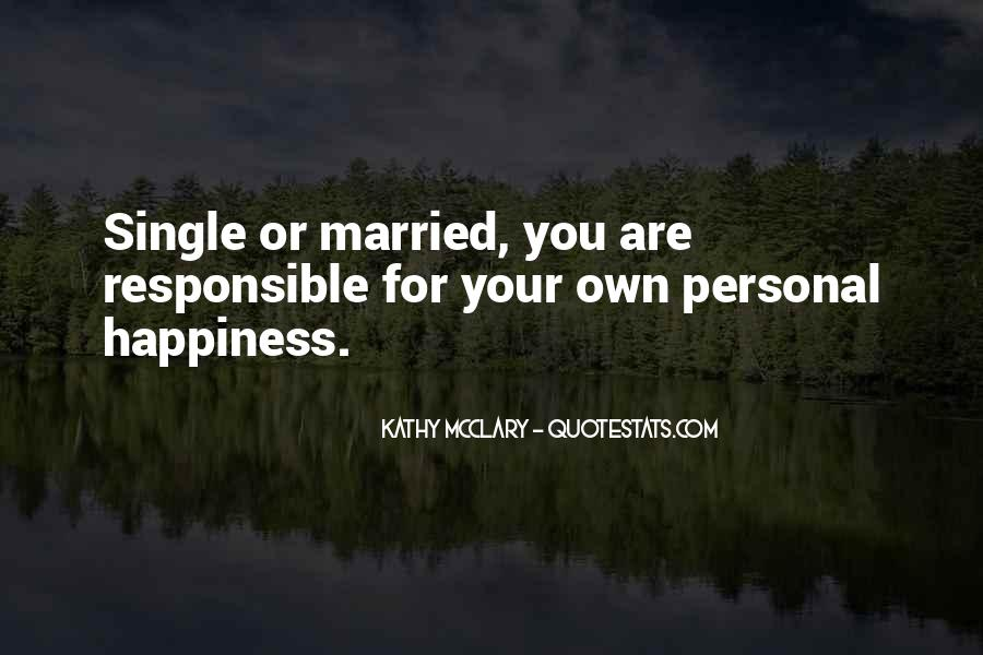 Quotes About A Happy Married Life #1745628