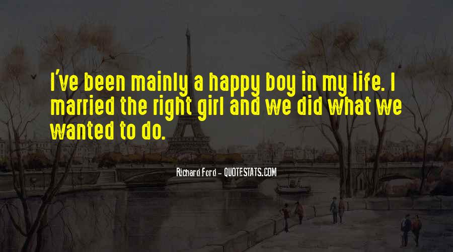Quotes About A Happy Married Life #505921