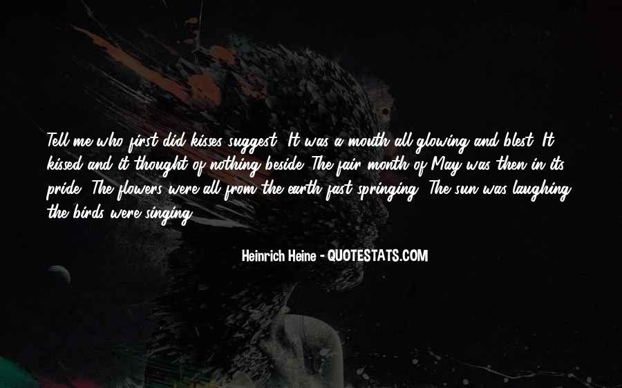 Heinrich Heine Quotes #134307