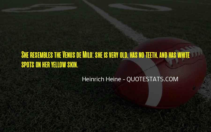 Heinrich Heine Quotes #167814