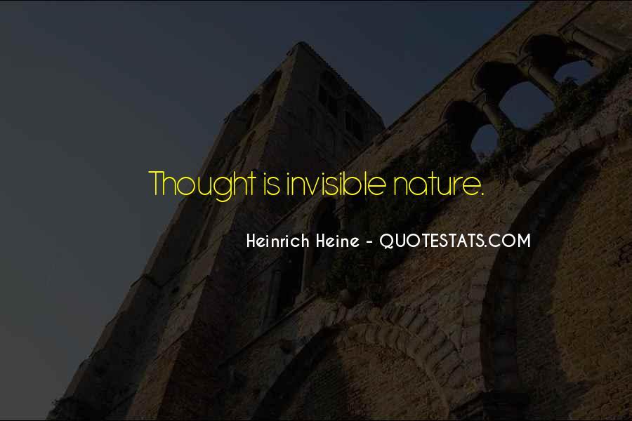 Heinrich Heine Quotes #172096