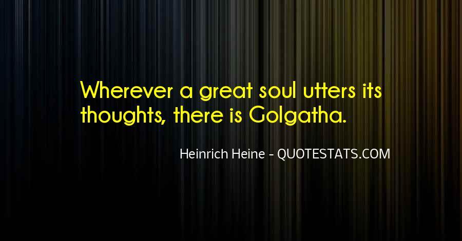 Heinrich Heine Quotes #230338