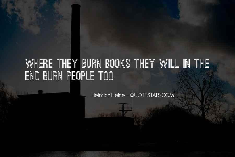 Heinrich Heine Quotes #258759