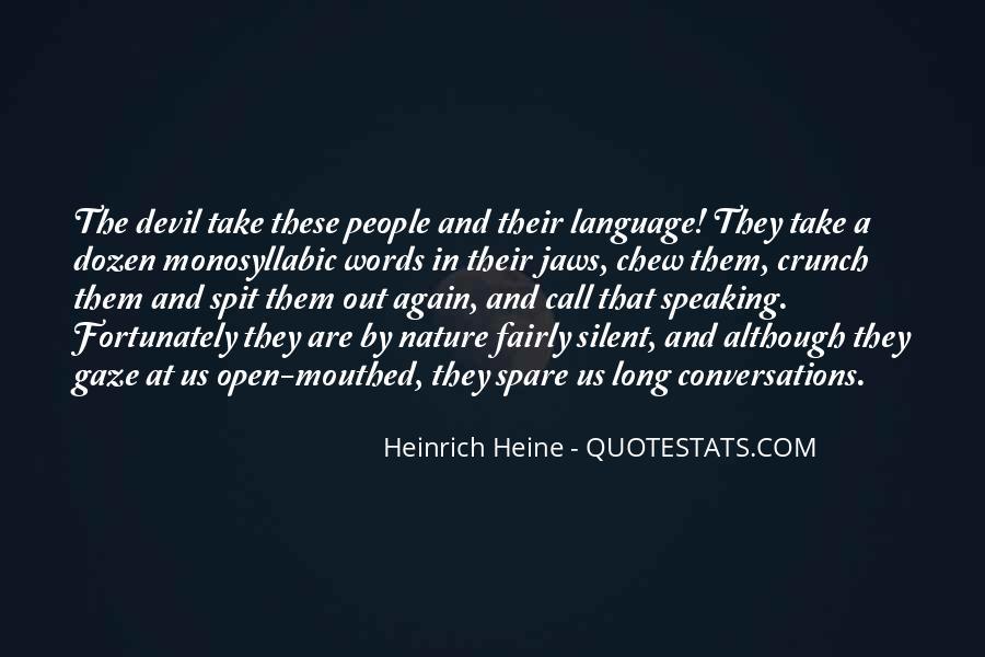 Heinrich Heine Quotes #262747
