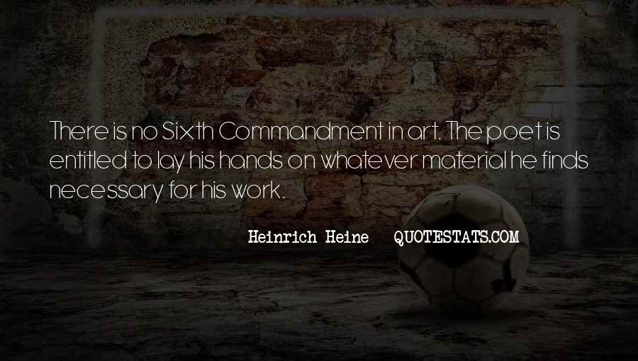 Heinrich Heine Quotes #466281
