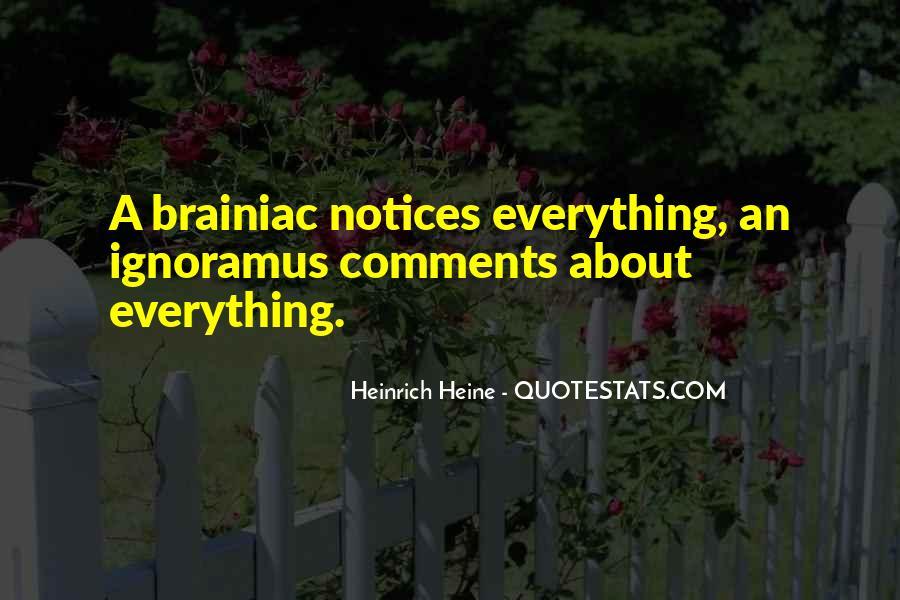 Heinrich Heine Quotes #473390