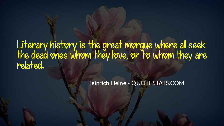 Heinrich Heine Quotes #53624