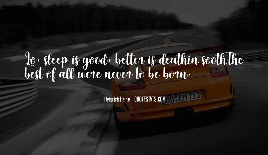 Heinrich Heine Quotes #555097