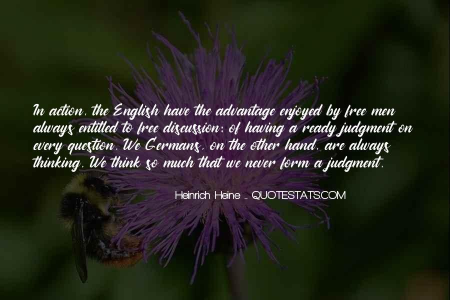 Heinrich Heine Quotes #597523