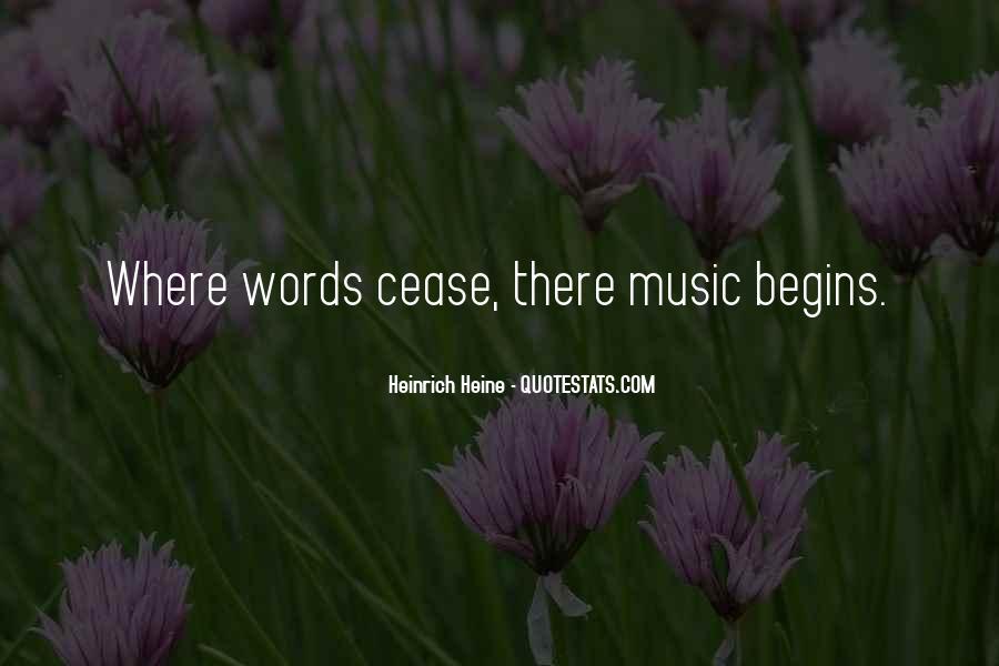 Heinrich Heine Quotes #607749