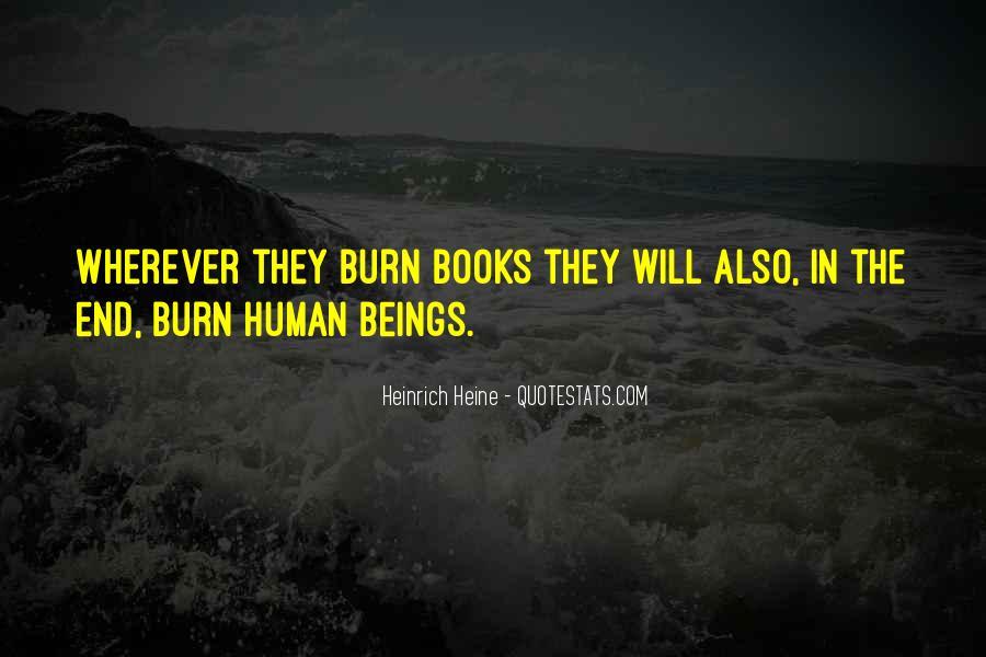 Heinrich Heine Quotes #722280