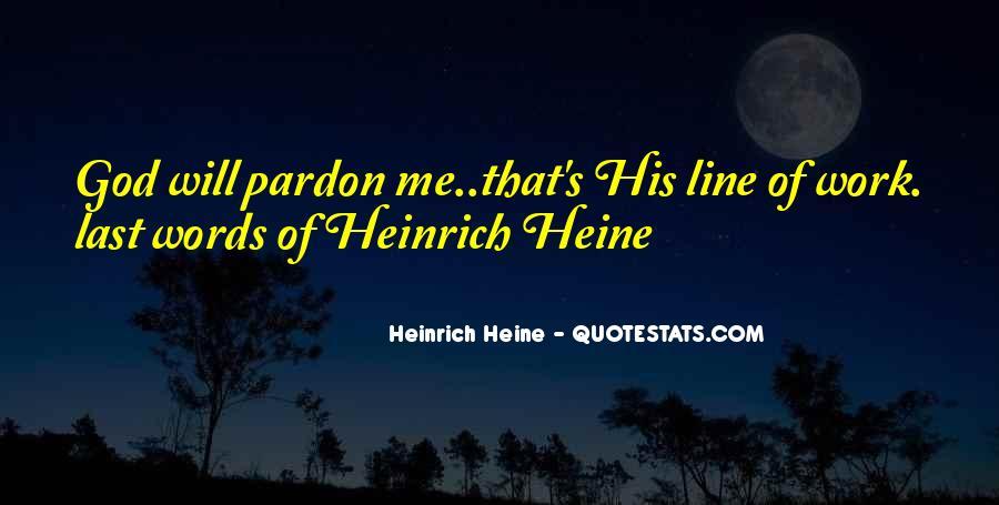 Heinrich Heine Quotes #732130