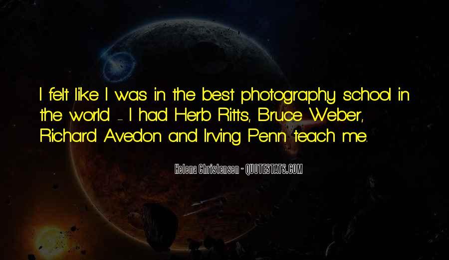 Helena Christensen Quotes #1138177