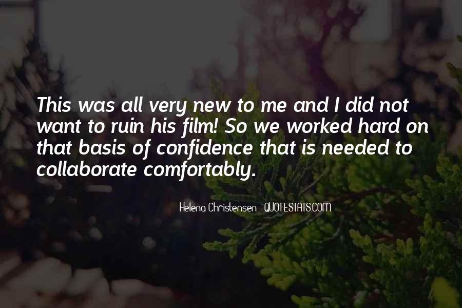 Helena Christensen Quotes #117466