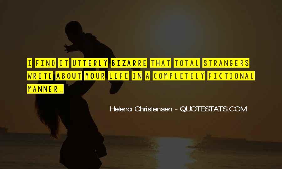 Helena Christensen Quotes #1203865
