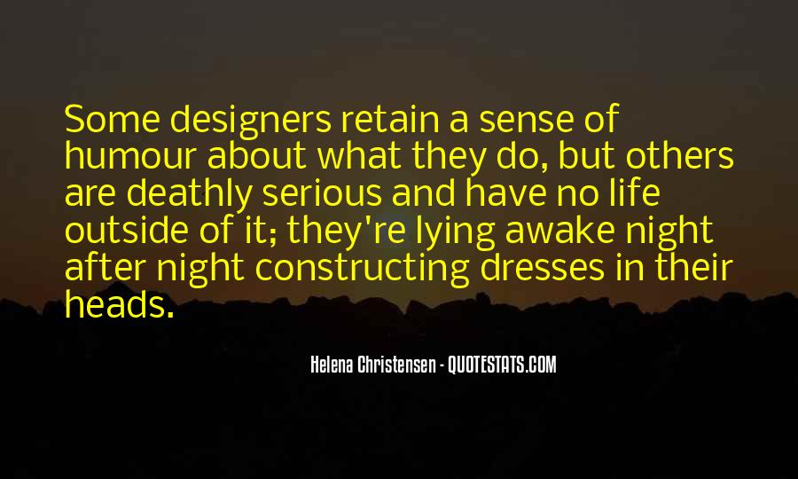 Helena Christensen Quotes #1287509