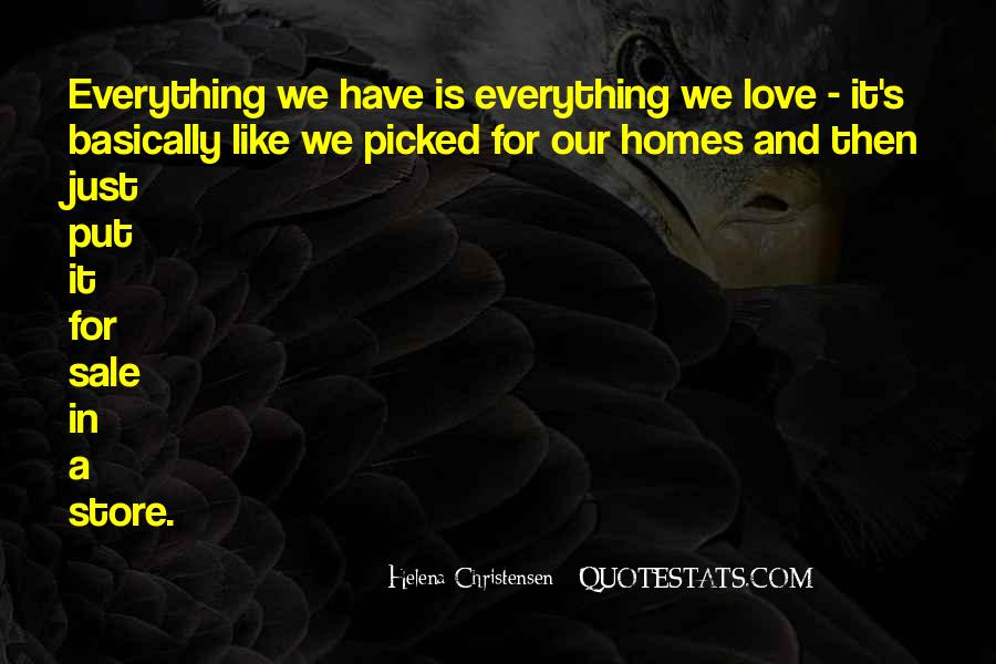 Helena Christensen Quotes #1352061