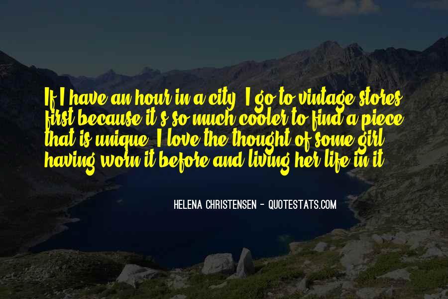 Helena Christensen Quotes #1359843