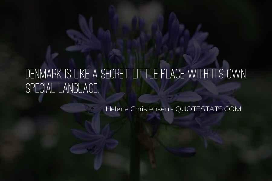 Helena Christensen Quotes #1386676