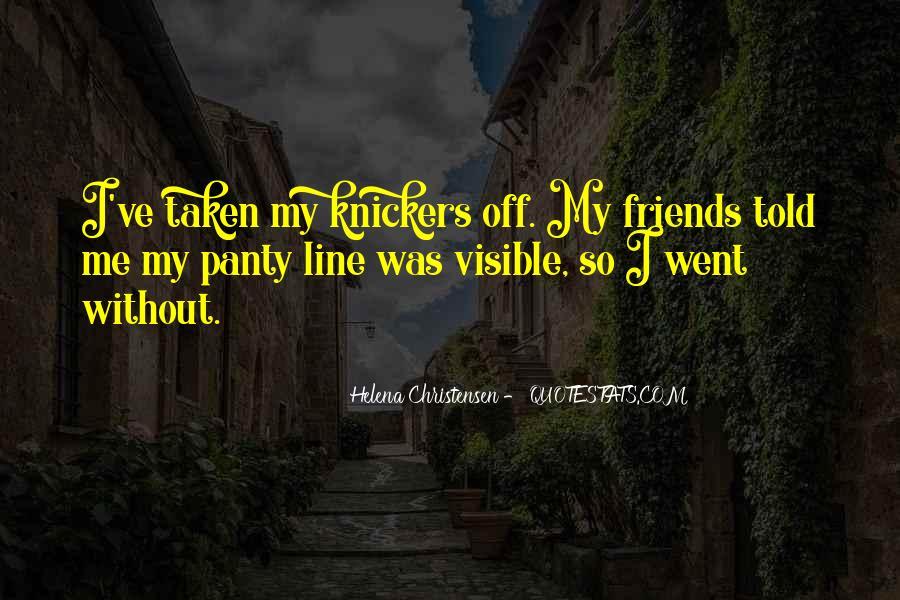 Helena Christensen Quotes #1420367
