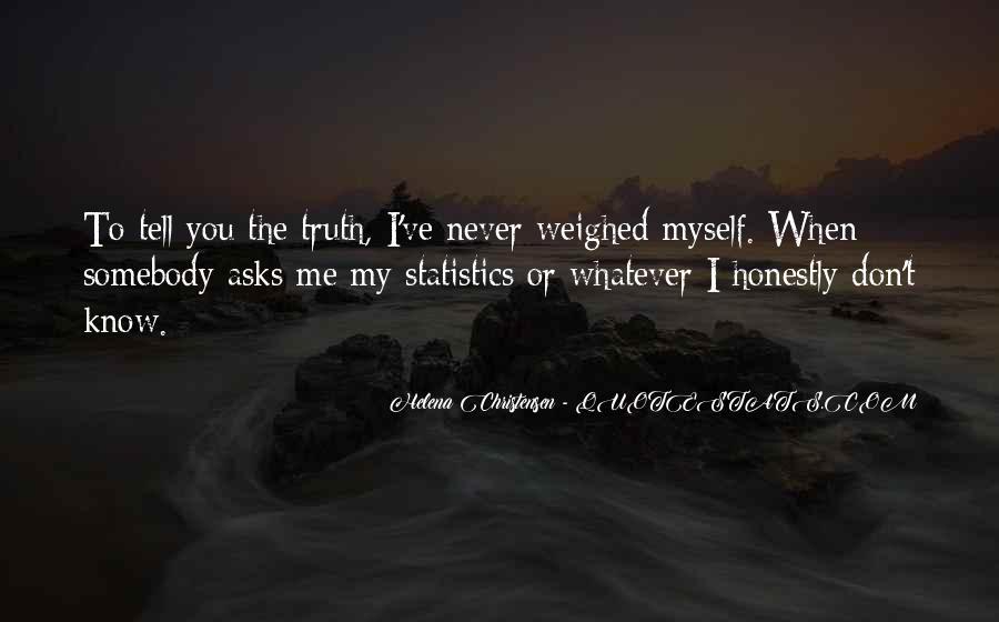 Helena Christensen Quotes #1673896