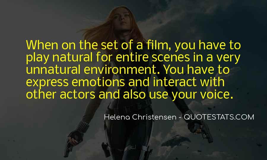Helena Christensen Quotes #1721545