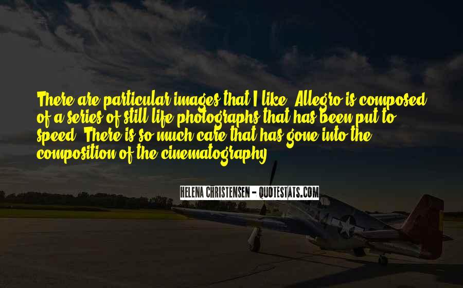 Helena Christensen Quotes #1842085