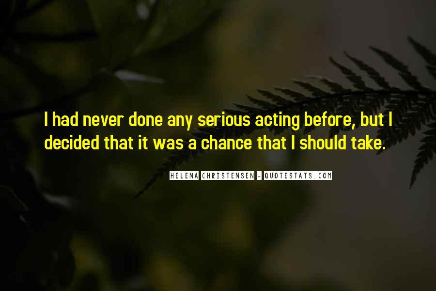 Helena Christensen Quotes #216313