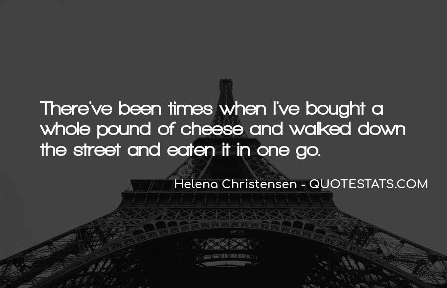 Helena Christensen Quotes #379356