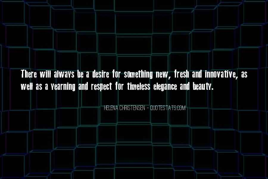 Helena Christensen Quotes #38864