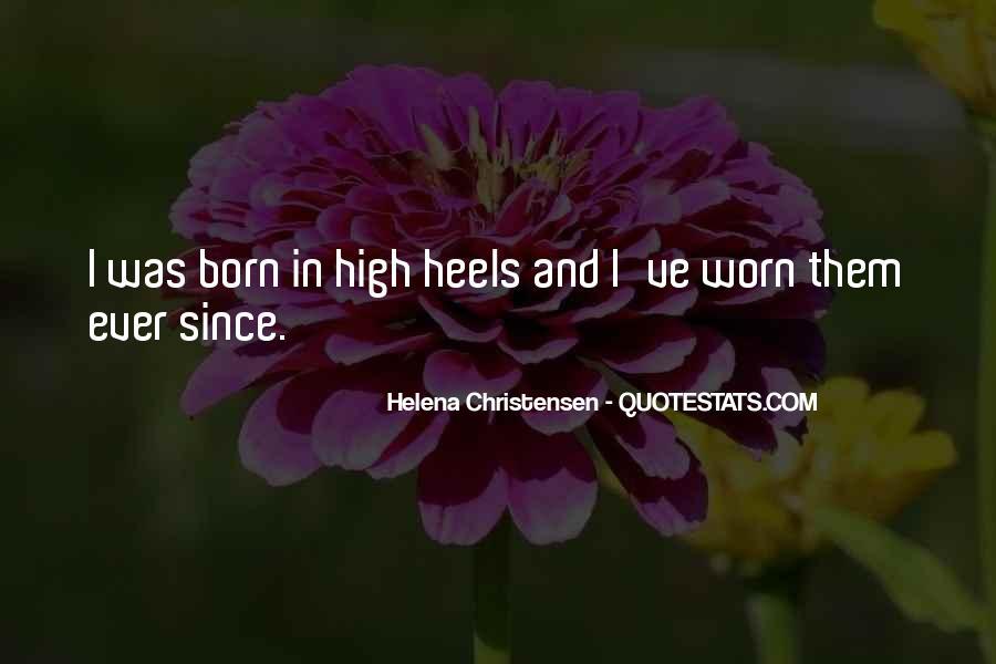 Helena Christensen Quotes #389052