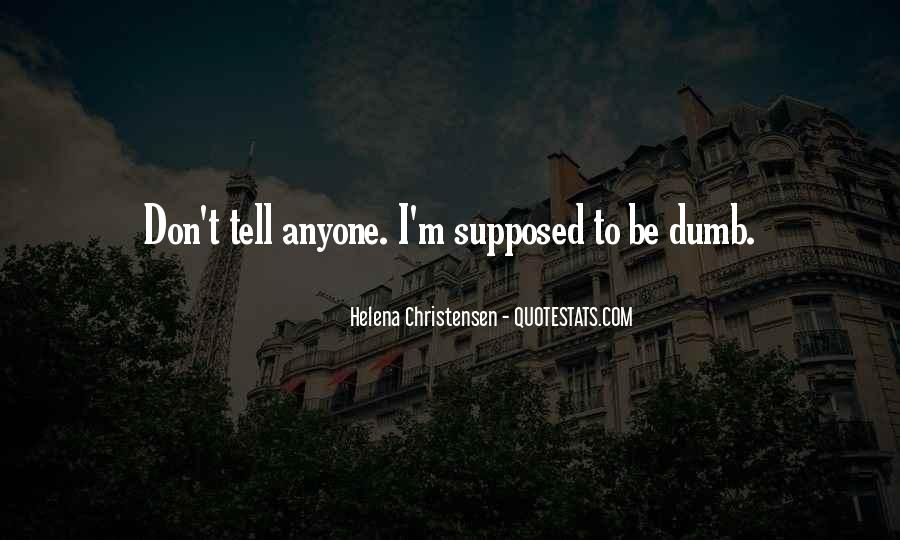 Helena Christensen Quotes #420258
