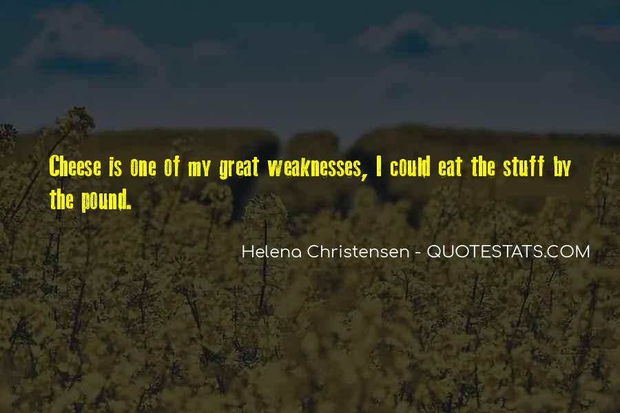 Helena Christensen Quotes #54883