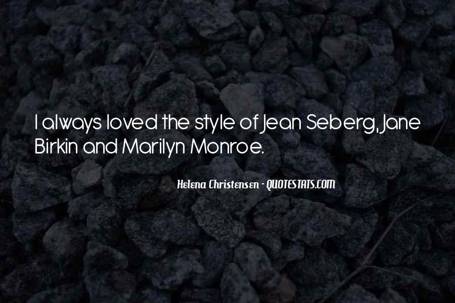 Helena Christensen Quotes #705074