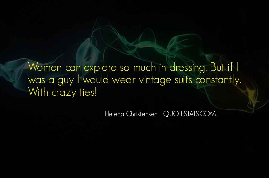 Helena Christensen Quotes #75045