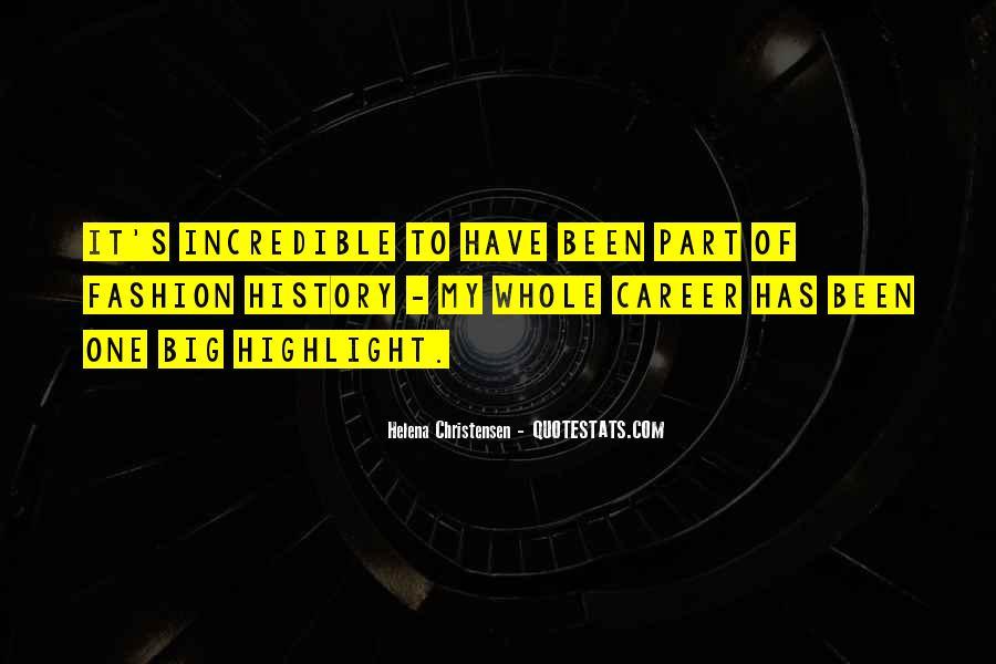 Helena Christensen Quotes #779607