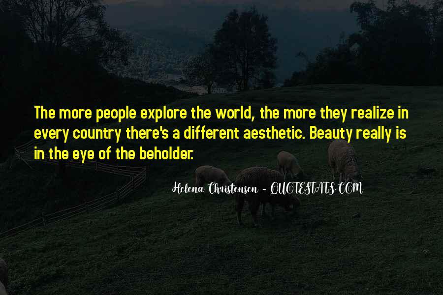 Helena Christensen Quotes #82291