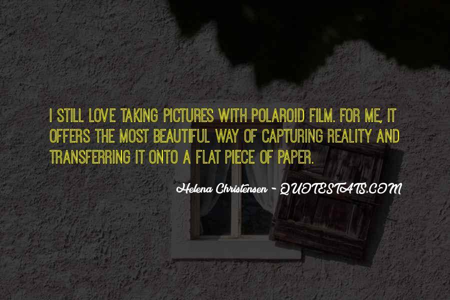 Helena Christensen Quotes #837697