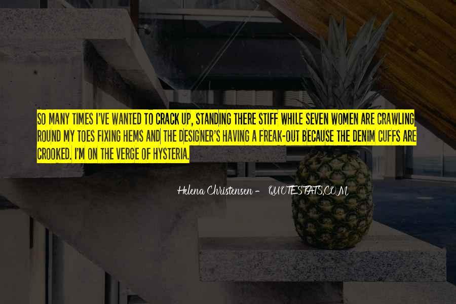 Helena Christensen Quotes #939055