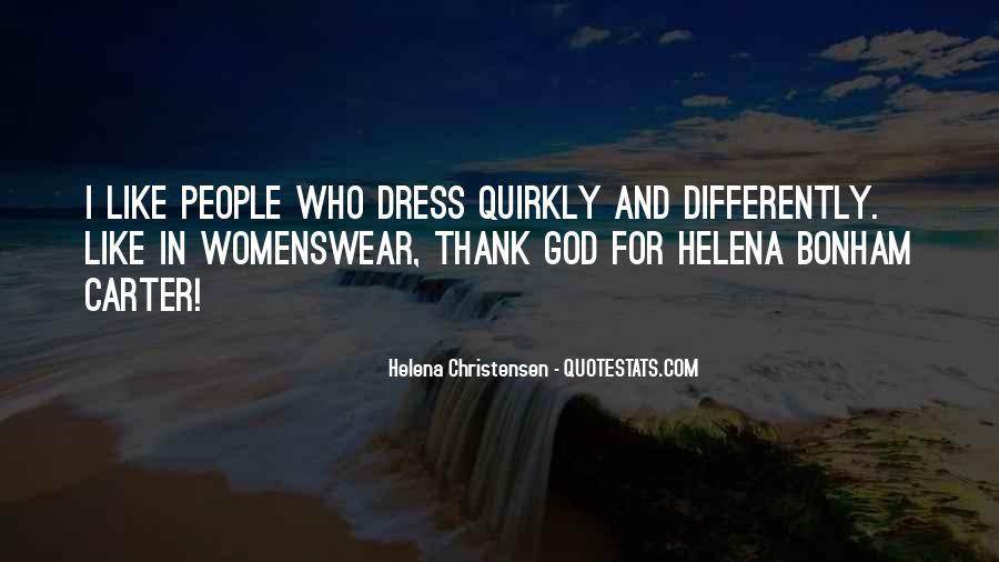 Helena Christensen Quotes #98088